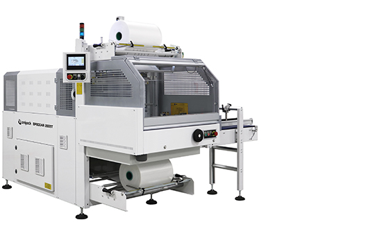 Semi-automatic and automatic shrink wrappers with sealing bar