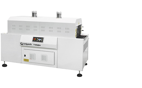 Continuous automatic sealers with shrink tunnel