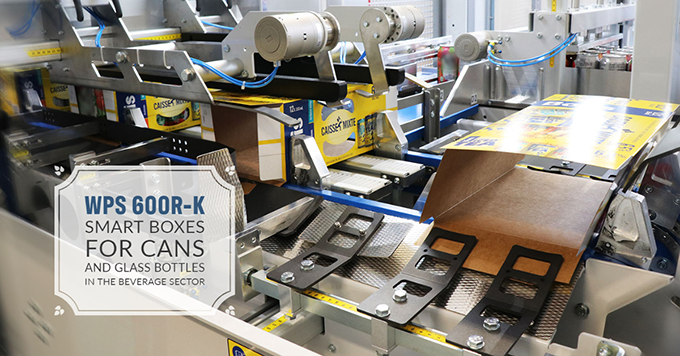 WPS 600R-K, Smart boxes for cans and glass bottles in the beverage sector