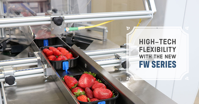 High-tech flexibility with the new FW series
